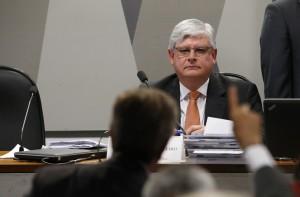 BSB DF 26/08/2015 POLÍTICA / SABATINA / CCJ / JANOT / Procurador-Geral da República, Rodrigo Janot Monteiro, passa por sabatina na Comissão de Constituição e Justiça (CCJ), no Senado Federal. FOTO: DIDA SAMPAIO/ESTADÃO
