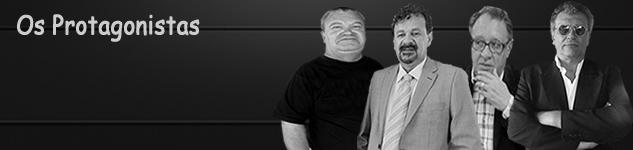 Robson Oliveira - Gessi Taborda - Silvio Persivo e Gladyston Leonello