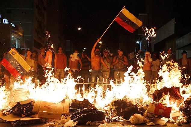 protestos venezuela