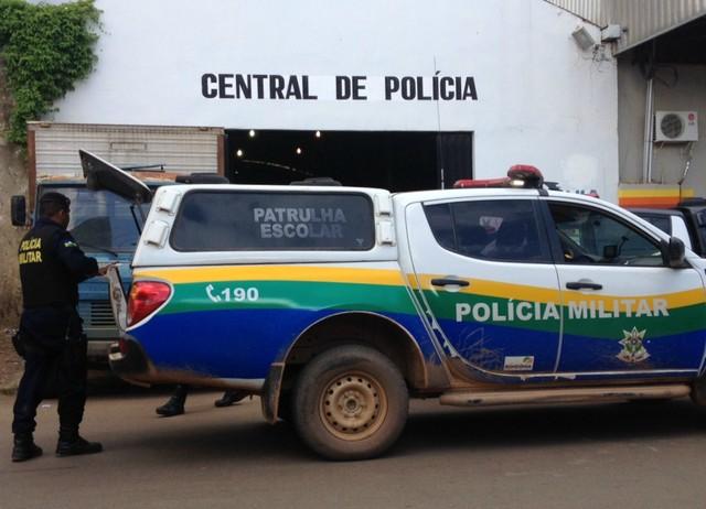 central de policia porto velho
