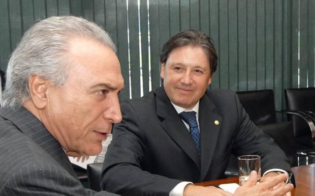 Michel Temer e Rodrigo Rocha Loures