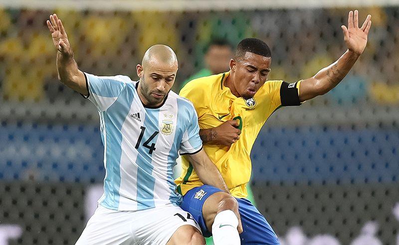 brasil perde muitos gols e cai contra argentina em